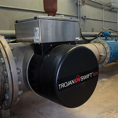 Case study about the TrojanUVSwiftECT installation in Cornwall, Ontario, Canada