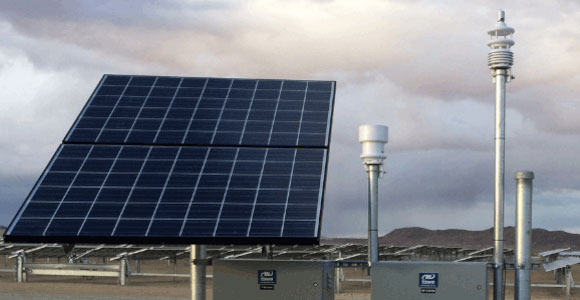 Smart Solar Monitoring or Photovoltaic Monitoring with Smart Weather Sensors