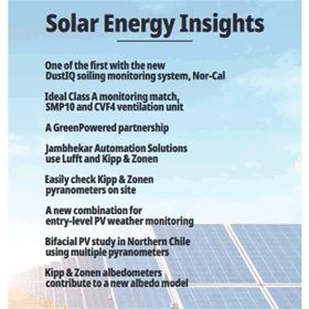 OTT HydroMet Insights: for Solar Energy