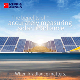 Benefits of Accurately Measuring Solar Irradiance