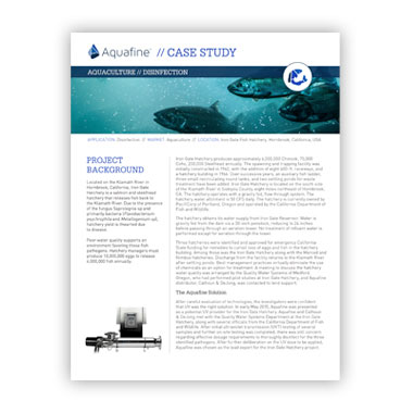 Iron Gate Hatchery Case Study