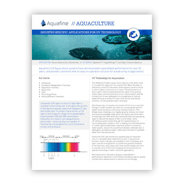 Aquaculture Marketing Brief