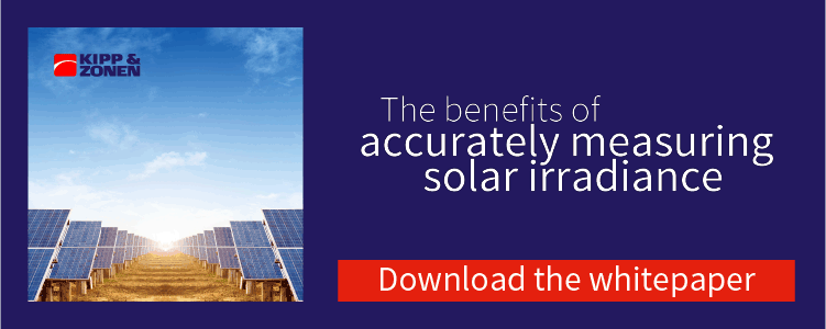 Download a copy of the solar irradiance whitepaper