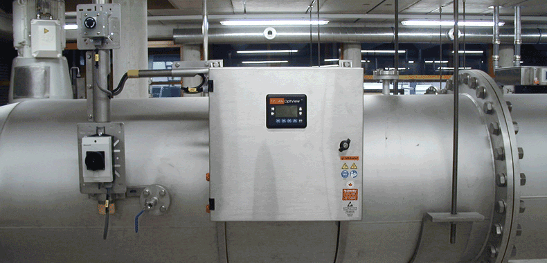 TrojanUVSwiftECT installation with OptiView UV transmittance measurement