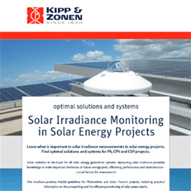 Solar Irradiance Monitoring in Solar Energy Projects