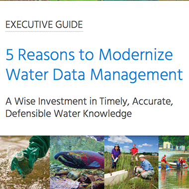 5 Reasons to Modernize Water Data Management