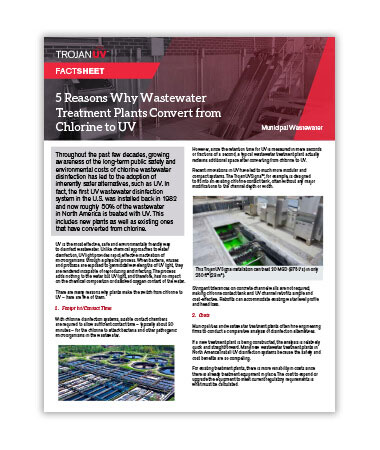 5 Reasons Why Wastewater Treatment Plants Convert