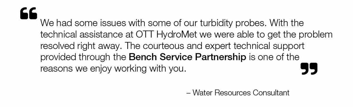 testimonial water resource