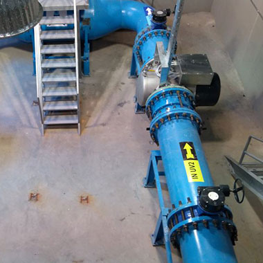 Case study about the TrojanUV installations at drinking water treatment plants in Jordan providing an additional barrier to Cryptosporidium and Giardia