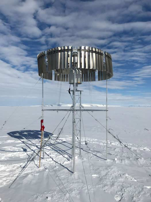 OTT Pluvio² in use for research project in Antarctica